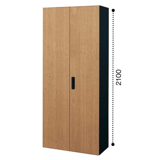 コクヨ エディア EDIA 両開き扉 多人数ロッカー 下置き書庫 ベース必要 木目タイプ 本体色ブラック BWU-R89E6CDP2/BWU-R89E6CDG5