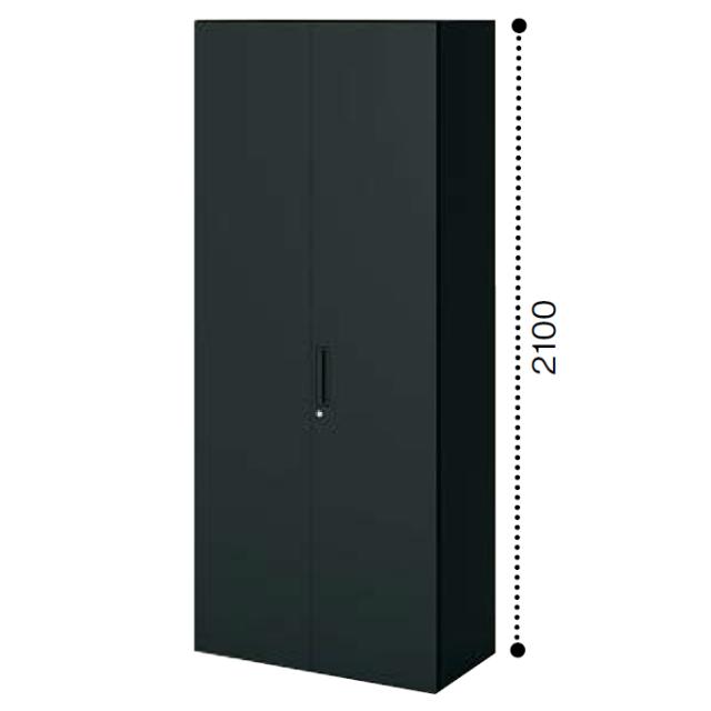 コクヨ エディア〈ブラックタイプ〉H2100タイプ 多人数用ロッカー 下置き ベース必要 W900×D450×H2100 BWU-R89F6
