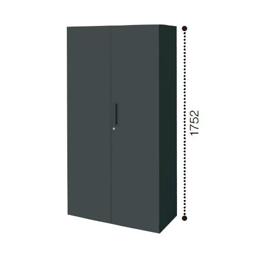 コクヨ エディア ブラックタイプ H1750タイプ 両開き扉 下置き W900×D450×H1750 BWU-S79E6C