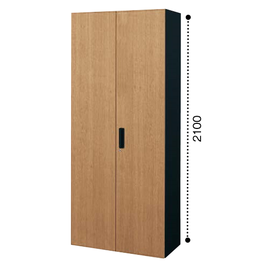 コクヨ エディア 両開き扉 下置き書庫 ベース必要 木目タイプ 本体色ブラック BWU-S89E6CDP2/BWU-S89E6CDG5