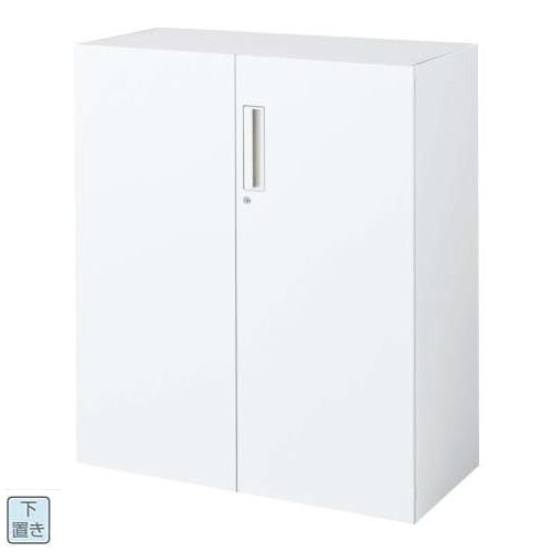 コクヨ エディア EDIA 両開き扉 下置き書庫 ベース必要 W900×D450×H1050 BWU-SD59SAWN/BWU-SD59F1N