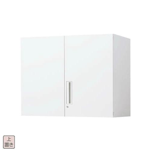 コクヨ エディア EDIA 両開き扉 上置き書庫 W900×D450×H702 BWU-SU39SAWN/BWU-SU39F1N