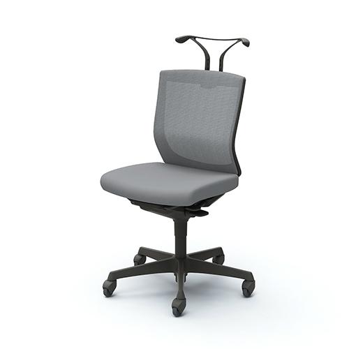 オカムラ okamura オフィスチェア エスクードチェア メッシュ ブラックシェル ローバック 肘無 ハンガー付 ランバー無 ゴムC C432XR-FHB/