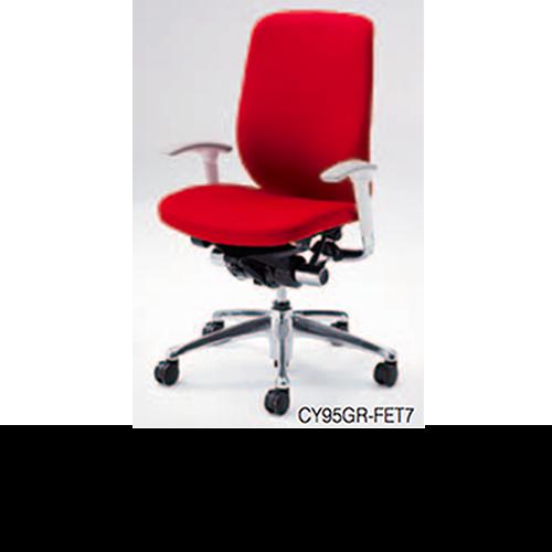 オカムラ okamura オフィスチェア Zephyr ゼファーチェア クッションタイプ アジャストアーム ハンガー付 ポリッシュ脚 CY96GR-FE/CY96ZR-FE