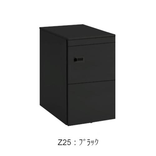 オカムラ ワゴン サイド把手タイプ 3段タイプ ダイヤル錠 W390×D580×H650 DN31BB-Z