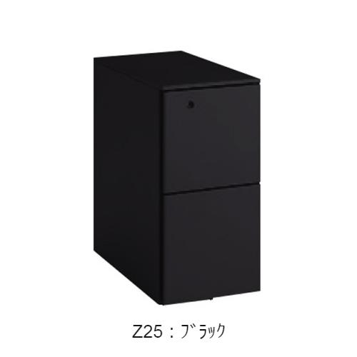 オカムラ ワゴン スリムキャビネット オールロックタイプ シリンダータイプ W290×D577×H602 DN38BB-Z