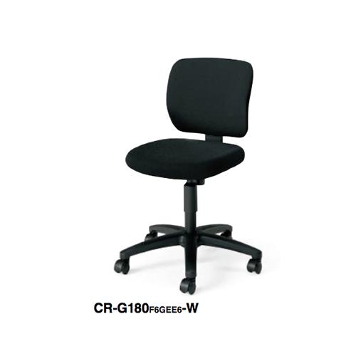 コクヨ KOKUYO オフィスチェア EAZA イーザチェア 背樹脂シェルタイプ 肘なしチェアー 背座同色 ナイロンキャスター/ゴム単輪キャスター CR-G180F6