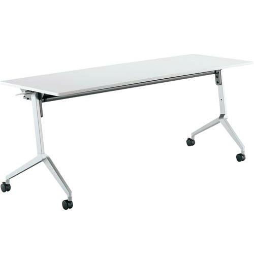 コクヨ ミーティングテーブル リーフライン フラップテーブル パネルなしタイプ 棚なし KT-1201