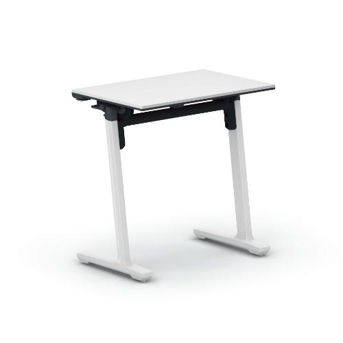 コクヨ ミーティングテーブル 研修施設用テーブル パネルなし/棚なし SAW(ホワイト)塗装脚 KT-147SAWPAWNN