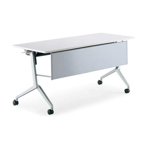 コクヨ ミーティングテーブル リーフライン(Leafline) フラップテーブル パネル付きタイプ 棚なし W1200×D600×H720mm KT-P1205