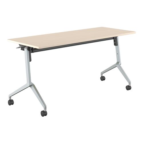 コクヨ ミーティングテーブル リーフライン フラップテーブル パネルなしタイプ 棚付き KT-S1203