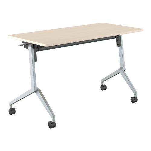 コクヨ ミーティングテーブル リーフライン フラップテーブル パネルなしタイプ 棚付き KT-S1205