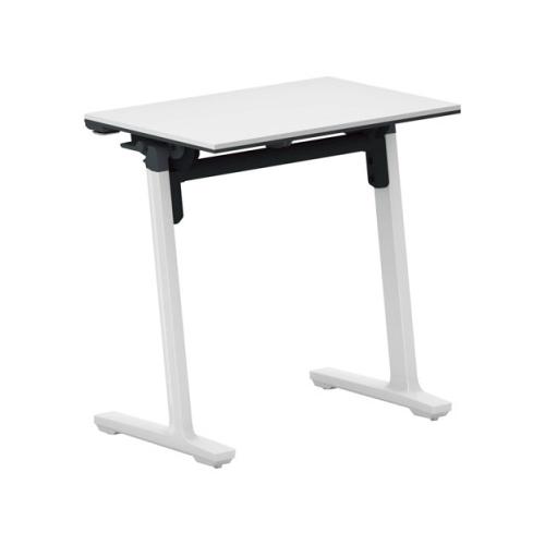 コクヨ ミーティングテーブル 研修施設用テーブル パネルなし/棚付き SAW(ホワイト)塗装脚 KT-S147SAWPAWNN