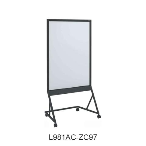 オカムラ GO-DO ホワイトボード(片面) W900×D570×H1750 L981AC-Z