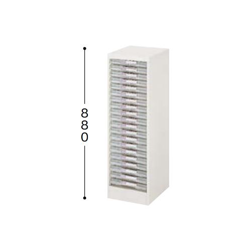 ナイキ パンフレットケース B4タイプ 1列浅型20段 B4縦用 W315×D400×H880mm LCB120D-B4-W