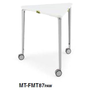 コクヨ ミーティングテーブル フィットミー マグネットフィットあり 三角形テーブル MT-FMT87PAW/MT-FMT87P1M/MT-FMT87X1A/MT-FMT87X18