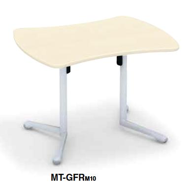 コクヨ KOKUYO キャンパスアップ ミーティングテーブル Campus up フラップテーブルリボン形フラップテーブル W1060×D845×H720 MT-GFRPAW/MT-GFRM10