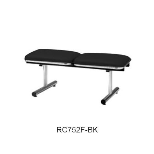 ナイキ ロビーチェア ロビーシリーズ75 2人掛 布張り W1005×D500×H410 RC752F