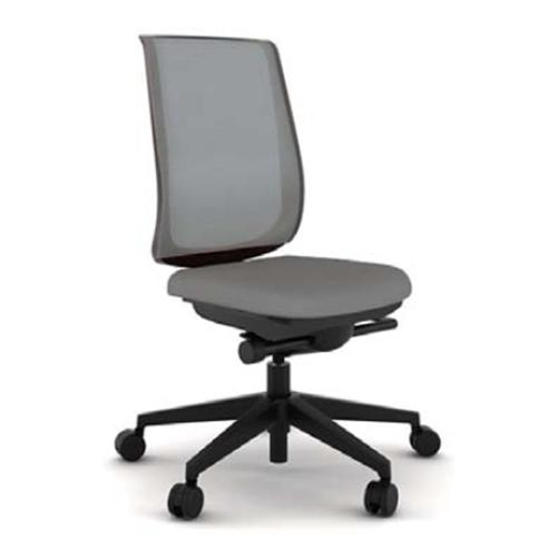 スチールケース Steelcase オフィスチェア Reply リプライチェア 単色タイプ/ブラック樹脂脚 肘なし 5-318-00**