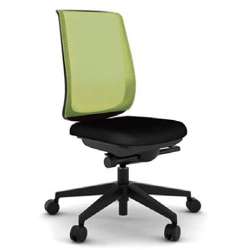 スチールケース Steelcase オフィスチェア Reply リプライチェア ツートンタイプ/ブラック樹脂脚 肘なし 5-318-0*01