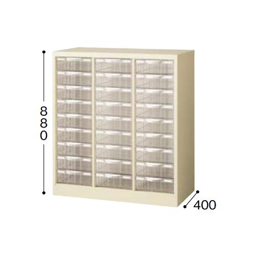 ナイキ パンフレットケース A4タイプ 3列深型9段 W777×D400×H880mm STD309L-A4