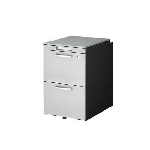 ナイキ ウエイク(テーブルシステムWK型) ワゴン(ハイタイプ) W395×D580×H650 シリンダー錠 TR046HC-SVD