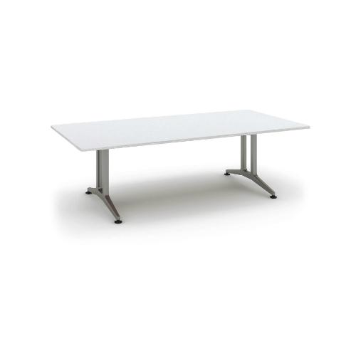 コクヨ 応接会議用テーブル 角形 メラミン 配線なし WT-200シリーズ W2400×D1200×H720 WT-200