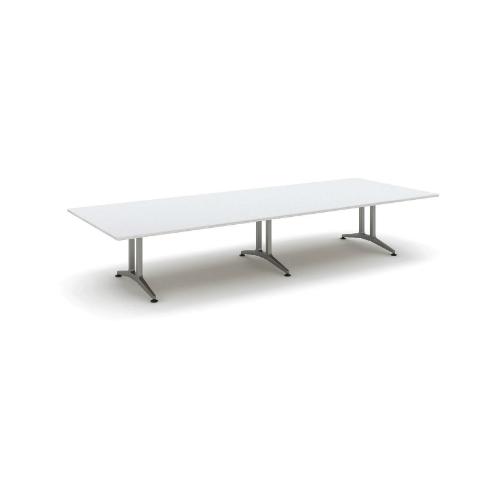 コクヨ 応接会議用テーブル 角形 メラミン 配線なし WT-200シリーズ W4000×D1500×H720 WT-202