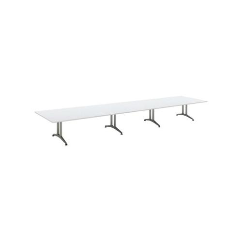 コクヨ 応接会議用テーブル 角形 メラミン 配線なし WT-200シリーズ W6400×D1500×H720 WT-205