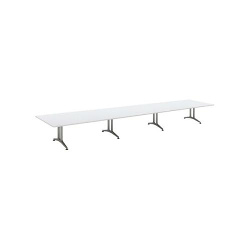 コクヨ 応接会議用テーブル 角形 メラミン 配線なし WT-200シリーズ W7200×D1500×H720 WT-206