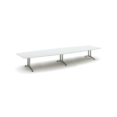 コクヨ 応接会議用テーブル ボート形 メラミン 配線なし WT-200シリーズ W4800×D1500×H720 WT-213
