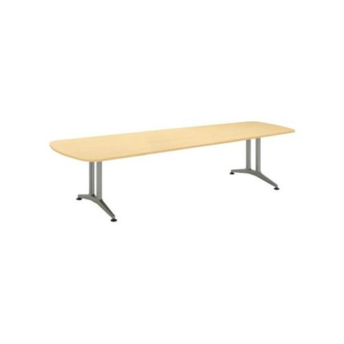 コクヨ 応接会議用テーブル ウィング形 メラミン 配線なし WT-200シリーズ W3200×D1200×H720 WT-221