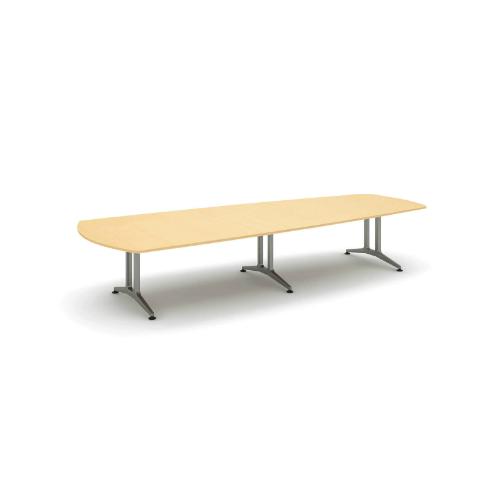 コクヨ 応接会議用テーブル ウィング形 メラミン 配線なし WT-200シリーズ W4000×D1550×H720 WT-222