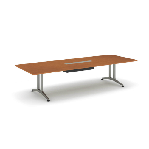コクヨ 応接会議用テーブル 角形 メラミン 配線付き WT-200シリーズ W3200×D1200×H720 WT-B201