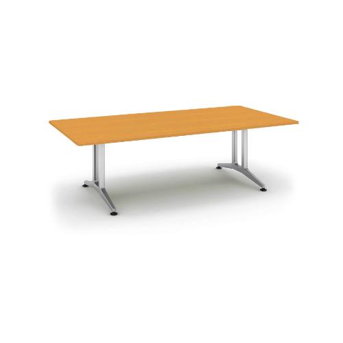 コクヨ 応接会議用テーブル 角形 突板 配線なし WT-W200シリーズ W2400×D1200×H720 WT-W200