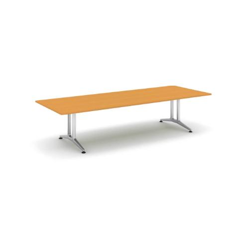 コクヨ 応接会議用テーブル 角形 突板 配線なし WT-200シリーズ W3200×D1200×H720 WT-W201