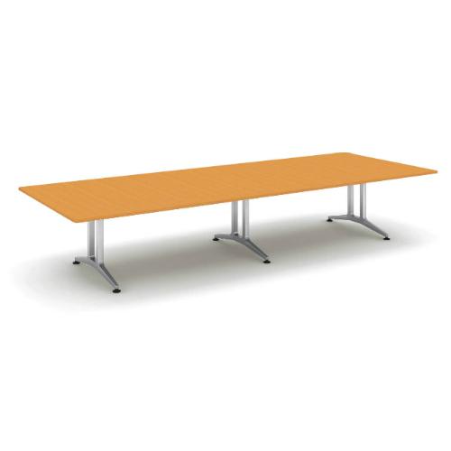 コクヨ 応接会議用テーブル 角形 突板 配線なし WT-200シリーズ W4000×D1500×H720 WT-W202