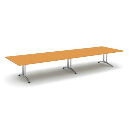 コクヨ 応接会議用テーブル 角形 突板 配線なし WT-200シリーズ W4800×D1500×H720 WT-W203
