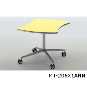 コクヨ Atlabo アットラボ ミーティングテーブル リボン形 配線キャップなし MT-206
