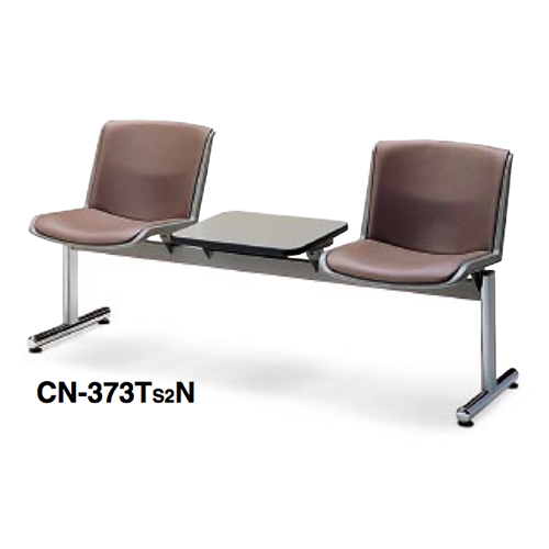 コクヨ KOKUYO ロビーチェアー 370シリーズ 2人用テーブル付き CN-373TB3N/CN-373TMN/CN-373TS2N ☆