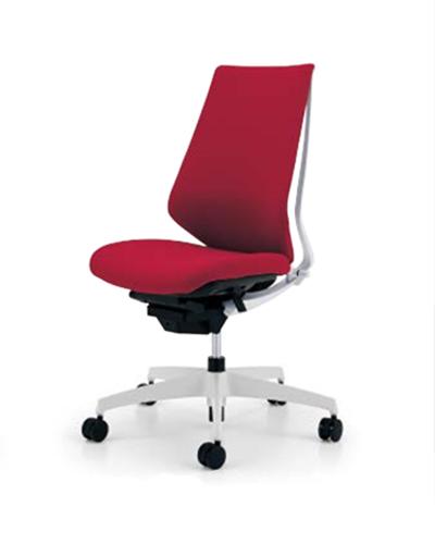 コクヨ KOKUYO オフィスチェア Duora デュオラチェア クッションタイプ 樹脂脚(ホワイト/クリーンテクトコーティング) ハイバック 肘なし CR-GW3100E1※-W