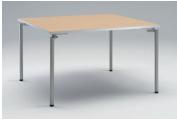 岡村製作所 オカムラ OKAMURA ミーティングテーブル Feathery フェズリー 4本脚テーブル 1200W*1200D*720H 4L55AK-MU46/4L55AK-MU47 ▲