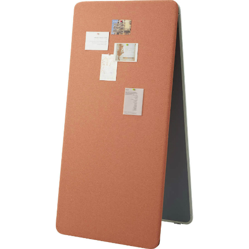 コクヨ マテリボ(MATERIBO) ピンナップボード 片面グレー板面/片面張り地 W865×D570×H1345 B01-C067H2C2