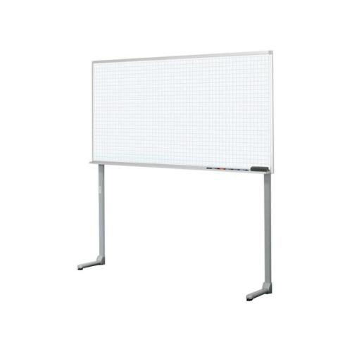 コクヨ ホワイトボード BB-L900シリーズ 片面ホワイトボード(グレー暗線) 壁面仕様 W1805×D315×H1800 BB-L936AW