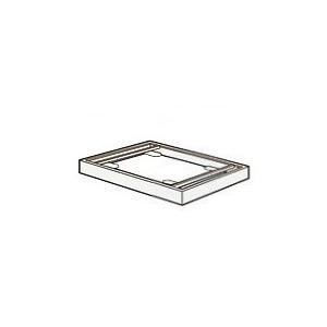 コクヨ エディア ハーフサイズ W450×D450用 シングルベース BWUB-S5SAW/BWUB-S5F4