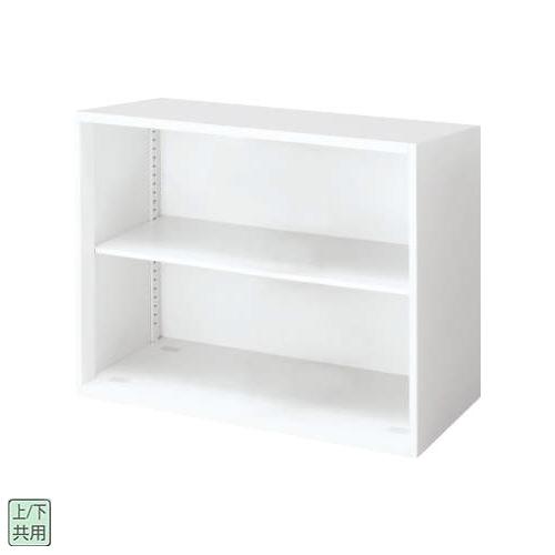 コクヨ エディア(EDIA) スタンダード オープン書庫 上下兼用 W800×D450×H702 BWU-K38SAW