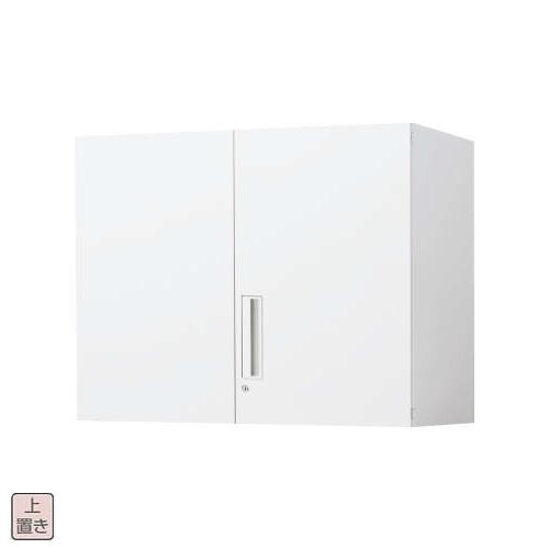 コクヨ エディア EDIA 両開き扉 上置き書庫 W800×D400×H702 BWU-SU38SSAWN