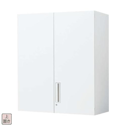 コクヨ エディア EDIA 両開き扉 上置き書庫  W900×D450×H1050 BWU-SU59SAWN/BWU-SU59F1N