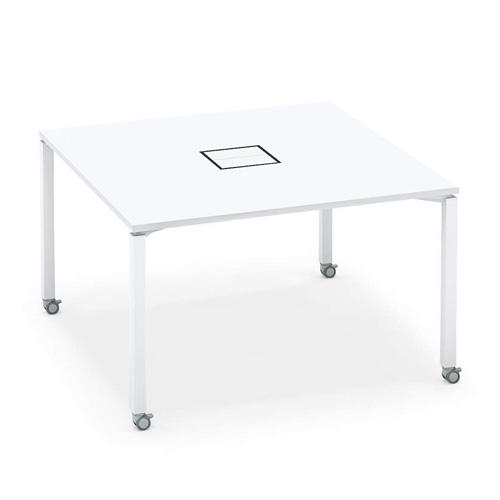 コクヨ ワークフィット スタンダードテーブル 両面タイプ アジャスター脚/キャスター脚 SD-WFA1212/SD-WFC1212