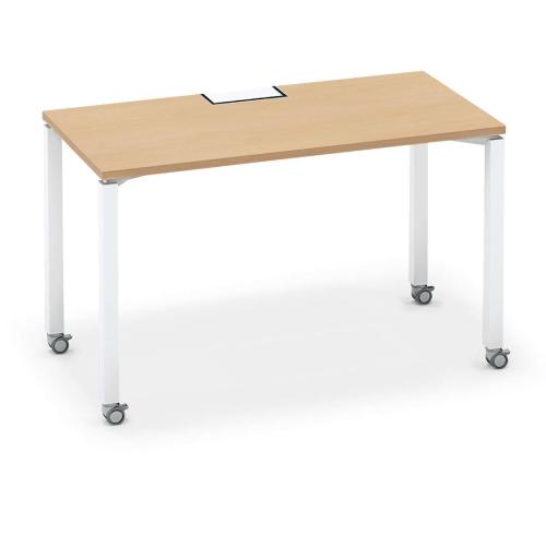 コクヨ KOKUYO オフィスデスク ワークフィット スタンダードテーブル 片面タイプ アジャスター脚/キャスター脚 W1200×D600 SD-WFA126/SD-WFC126